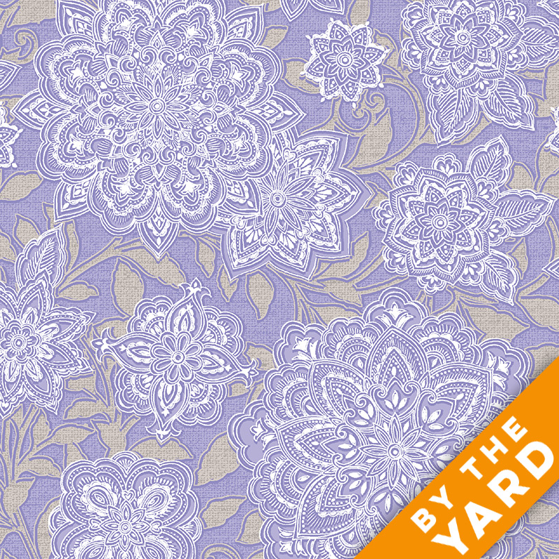 Paintbrush Studio - Piccadilly - 120-0111 - Fabric by the Yard