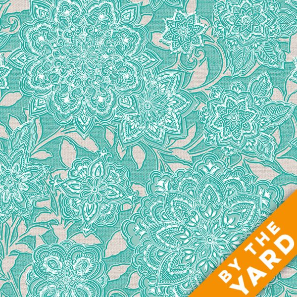 Paintbrush Studio - Piccadilly - 120-0112 - Fabric by the Yard