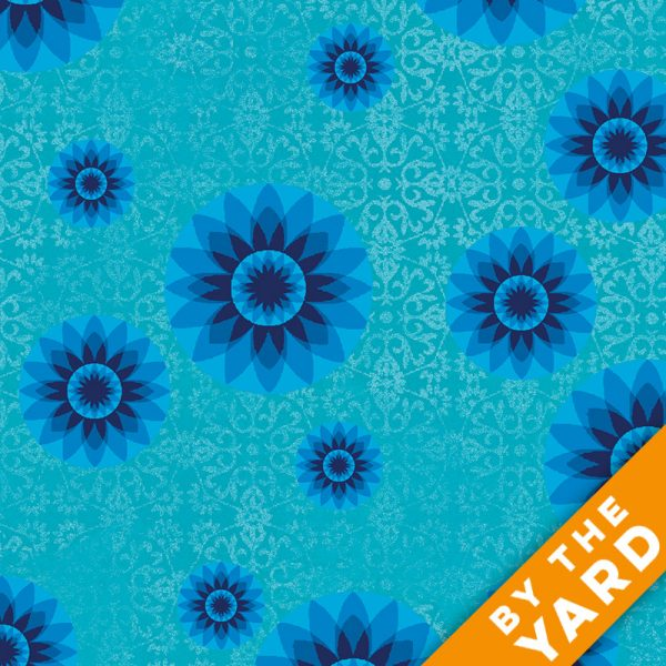 Paintbrush Studio - Calypso by Ro Gregg - 120-4263 - Fabric by the Yard