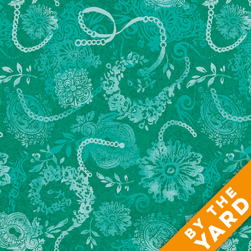 Paintbrush Studio - Lagoon - 120-7411 - Fabric by the Yard