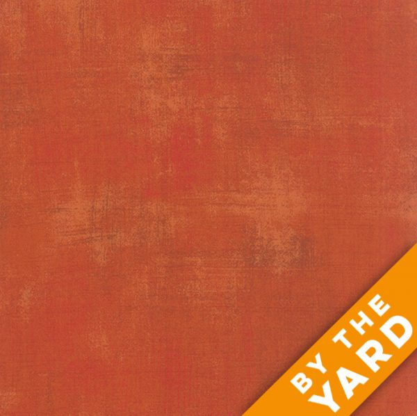Grunge Basics - Pumpkin by Moda Fabrics - 30150-285 - Fabric by the Yard
