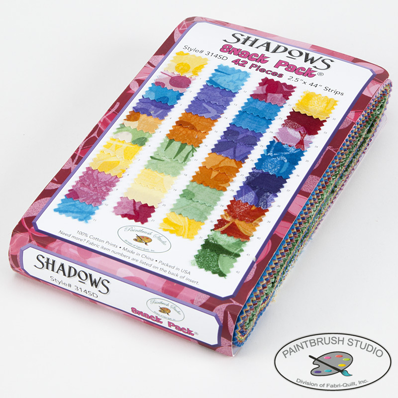 "Shadows Snack Pack 2.5"" Strips - Paintbrush Studio"