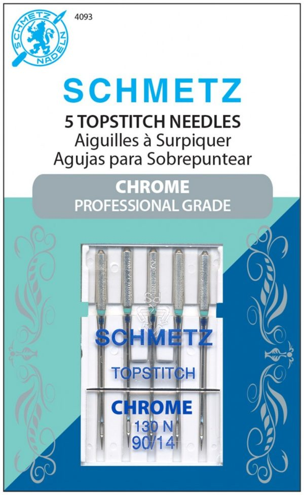 4093 - Chrome Topstitch Schmetz Needle 5 ct
