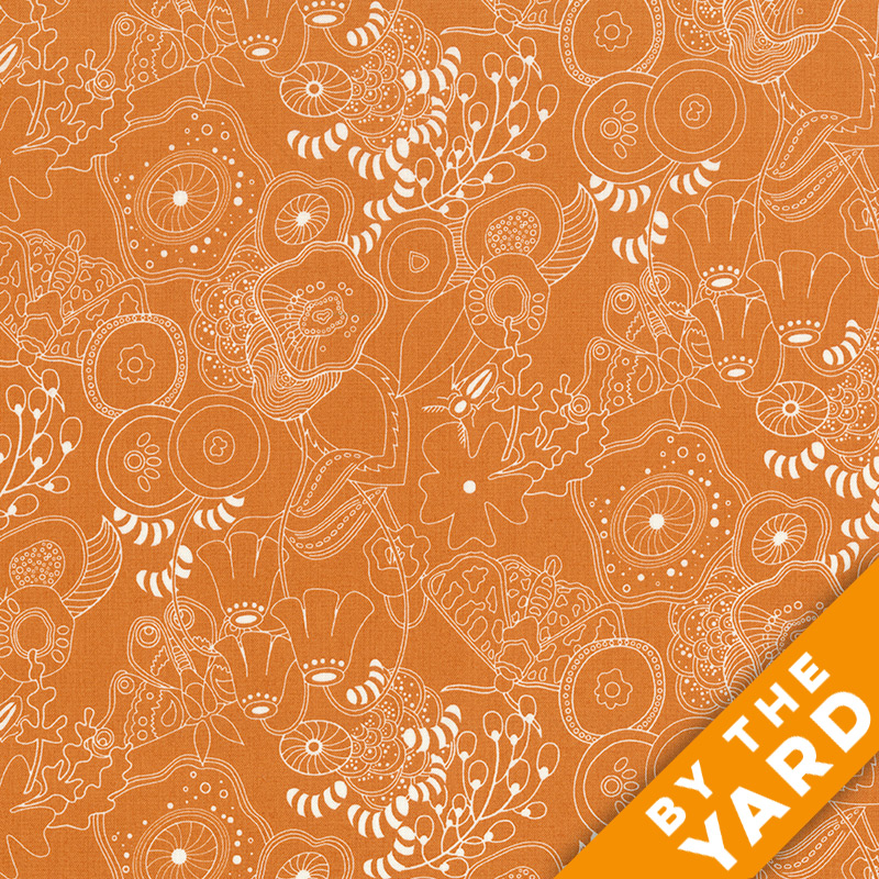 Sun Print by Alison Glass - 8070-O - Fabric By the Yard