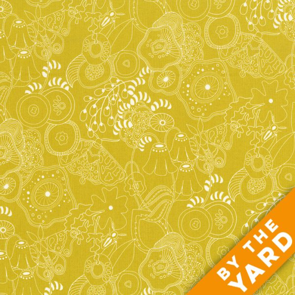 Sun Print by Alison Glass - 8070-Y - Fabric By the Yard