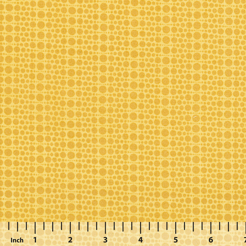 Andover - The Color Collection by Modern Quilt Studio - Yellow Dots - By the Yard