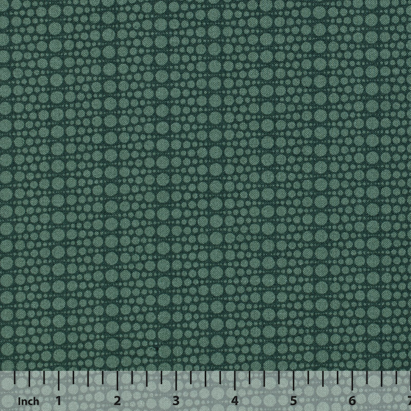 Andover - The Color Collection by Modern Quilt Studio - Green Dots - By the Yard