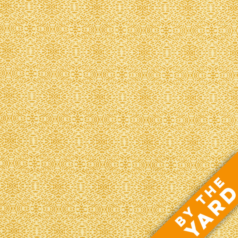 Andover - The Color Collection by Modern Quilt Studio - Yellow Lines - 7484-Y - By the Yard
