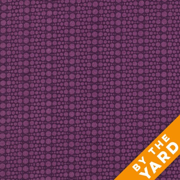 Andover - The Color Collection by Modern Quilt Studio - Purple Dots - By the Yard