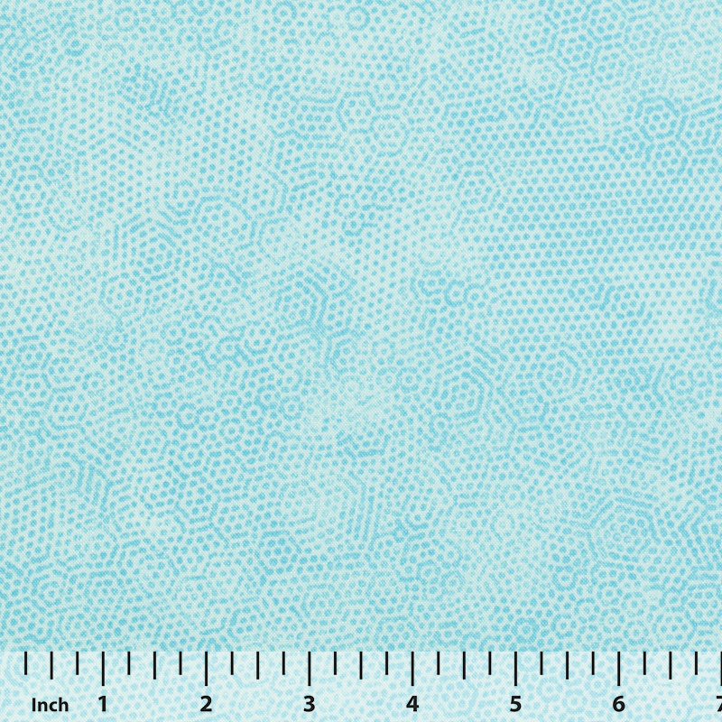 Andover Dimples by Gail Kessler - Aqua - By the Yard