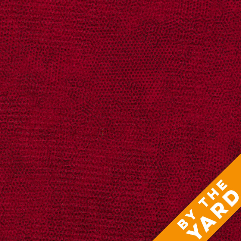 Andover Dimples by Gail Kessler - Burgundy - By the Yard