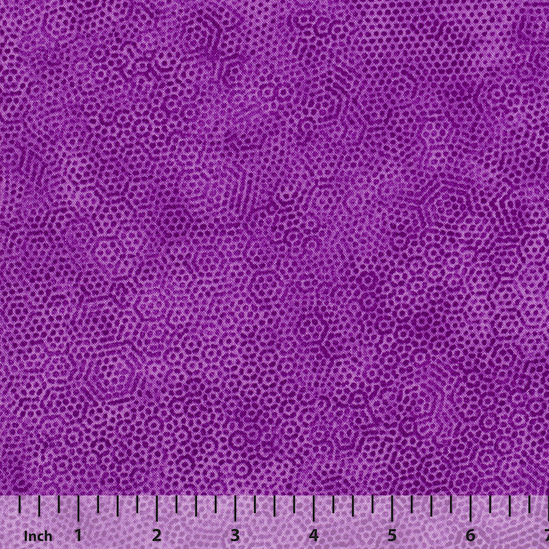 Andover Dimples by Gail Kessler - Grape - By the Yard