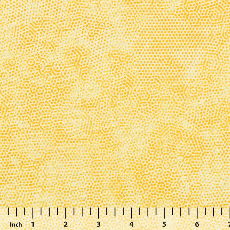 Andover Dimples by Gail Kessler - Yellow - By the Yard