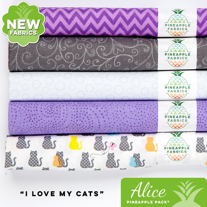 I Love My Cats - Alice Pineapple Pack