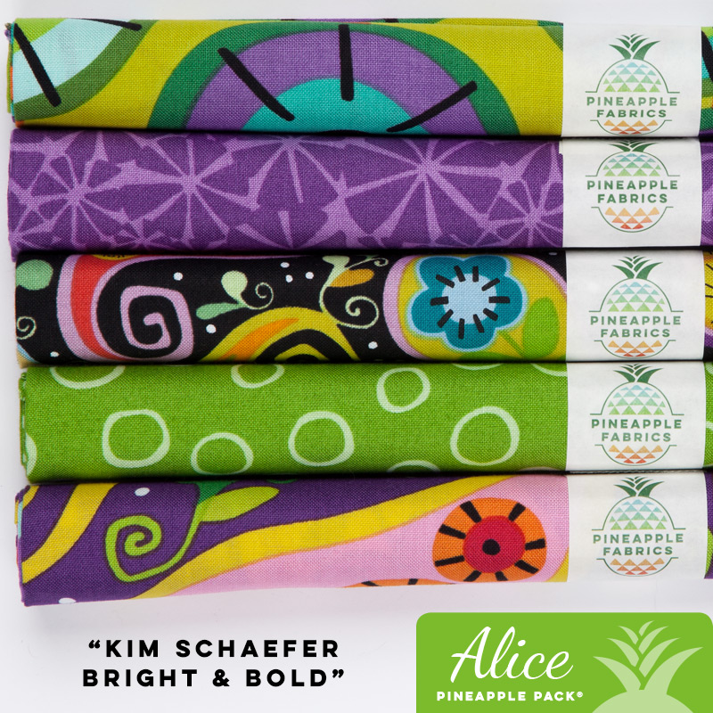 Kim Schaefer's Bright and Bold - Alice Pineapple Pack
