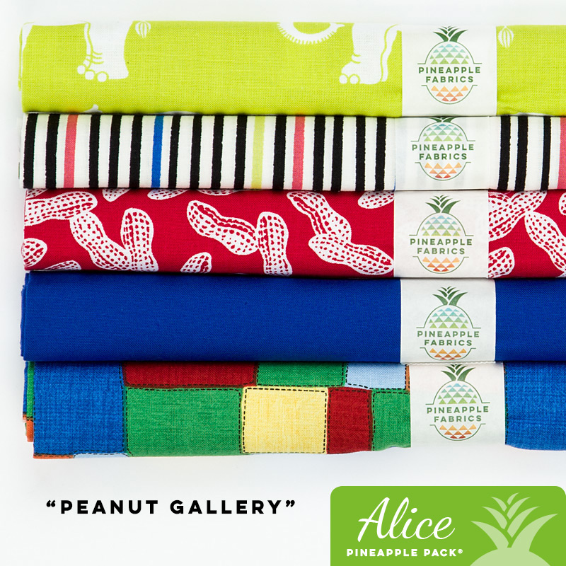 Peanut Gallery - Alice Pineapple Pack