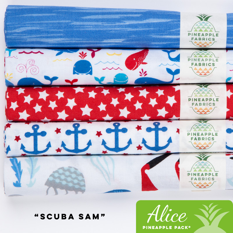 Scuba Sam - Alice Pineapple Pack