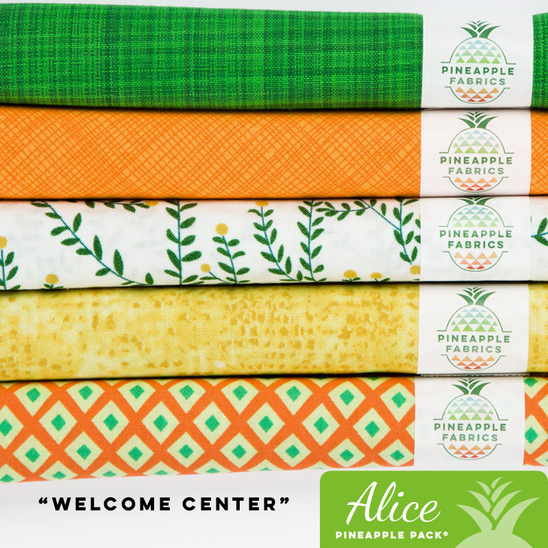 Welcome Center - Alice Pineapple Pack