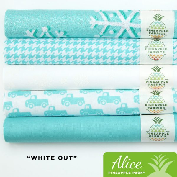 White Out - Alice Pineapple Pack