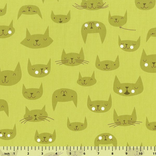 Andover - Lizzy House - Cat Nap - 7341-G- Fabric By the Yard