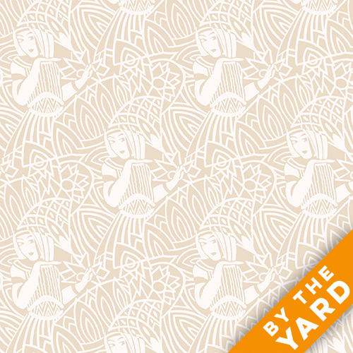 Andover - Downton Abbey - The Egyptian Collection - 7622-L - Fabric by the Yard