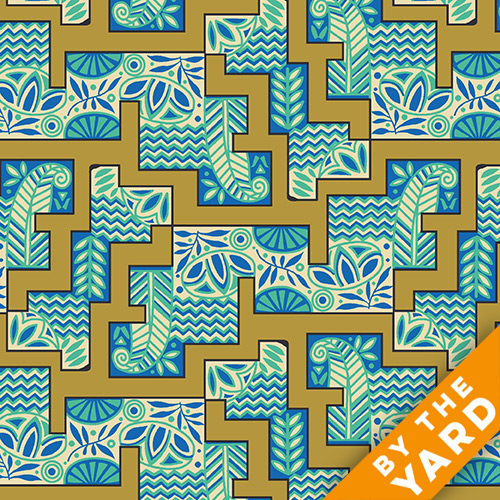 Andover - Downton Abbey - The Egyptian Collection - 7623-KN - Fabric by the Yard
