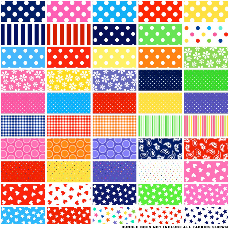 Basic Brights By Windham Fabrics 10 Squares Pineapple