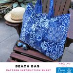 Beach Bag - Fran Pineapple Pack Pattern