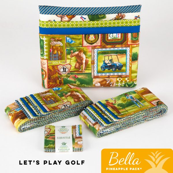Let's Play Golf - Bella Pineapple Pack