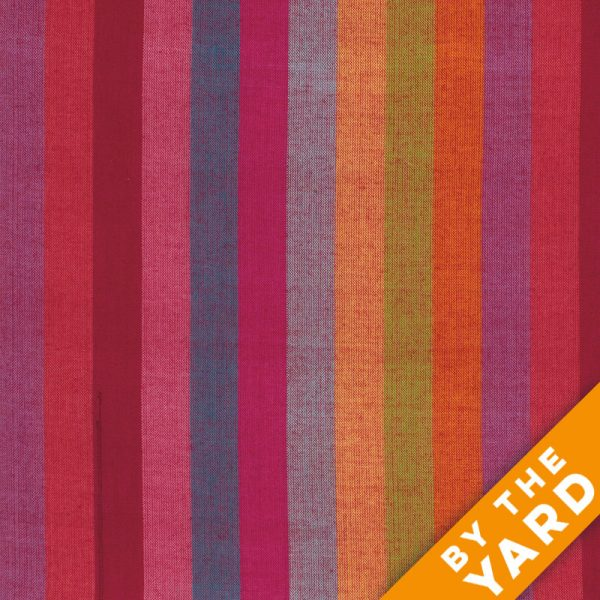 Rowan Woven Stripes by Kaffe Fassett - Broad Stripe Watermelon - By the Yard