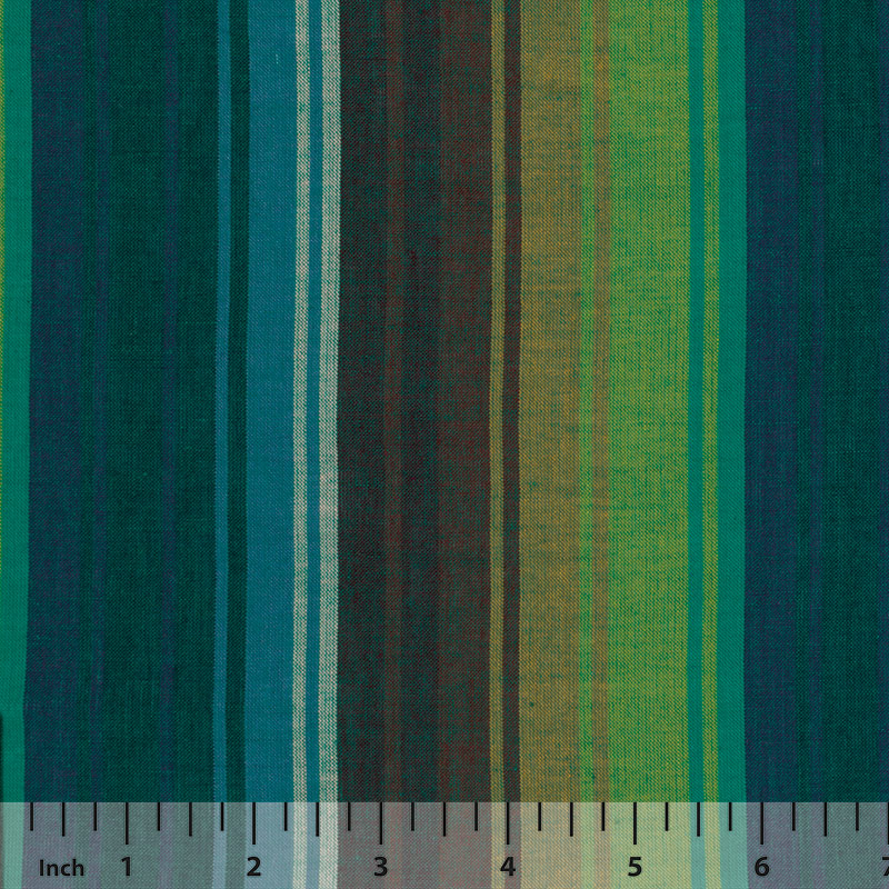 Rowan Woven Stripes by Kaffe Fassett - Exotic Stripe Emerald - By the Yard