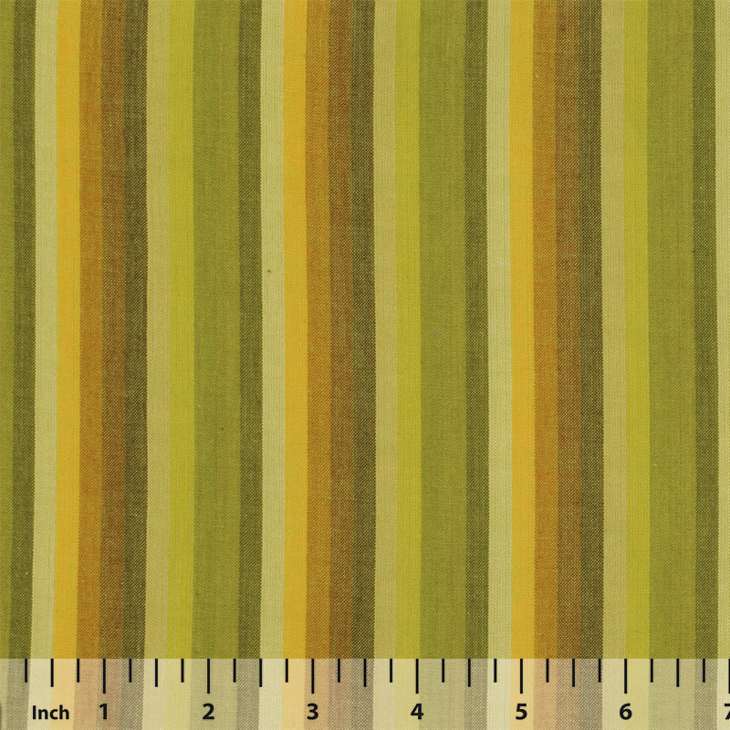 Rowan Woven Stripes by Kaffe Fassett - Multi Stripe Lime - By the Yard
