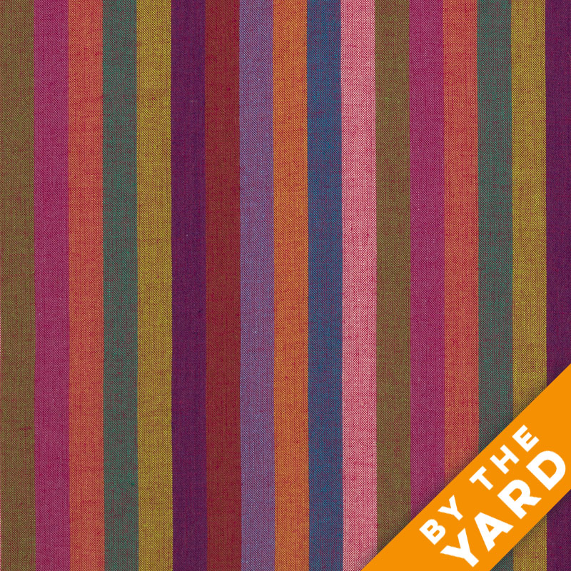 Rowan Woven Stripes by Kaffe Fassett - Narrow Stripe Red - By the Yard