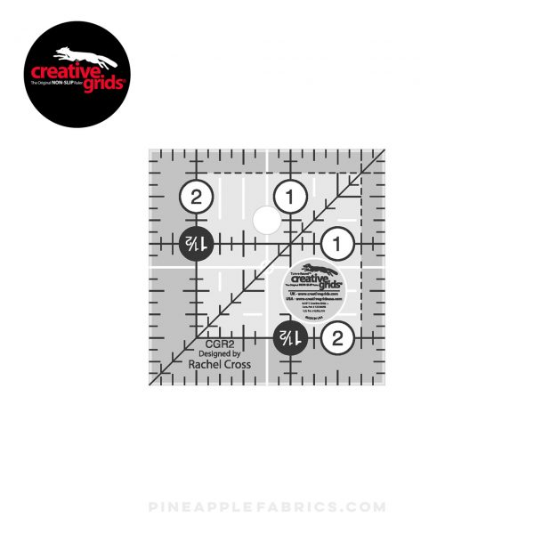 CGR2 - Creative Grids Quilt Ruler 2-1/2in Square