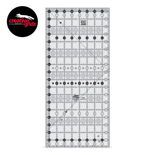 CGR818 - Creative Grids Quilt Ruler 8-1/2in x 18-1/2in
