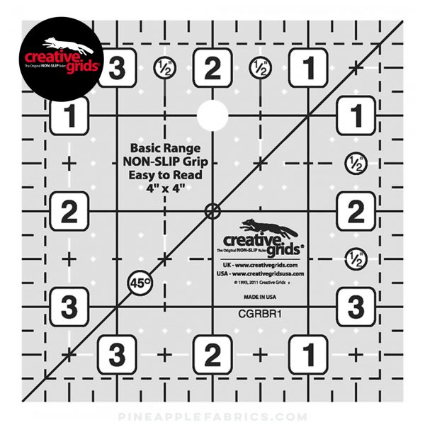 CGRBR1 - Creative Grids Basic Range 4in Square