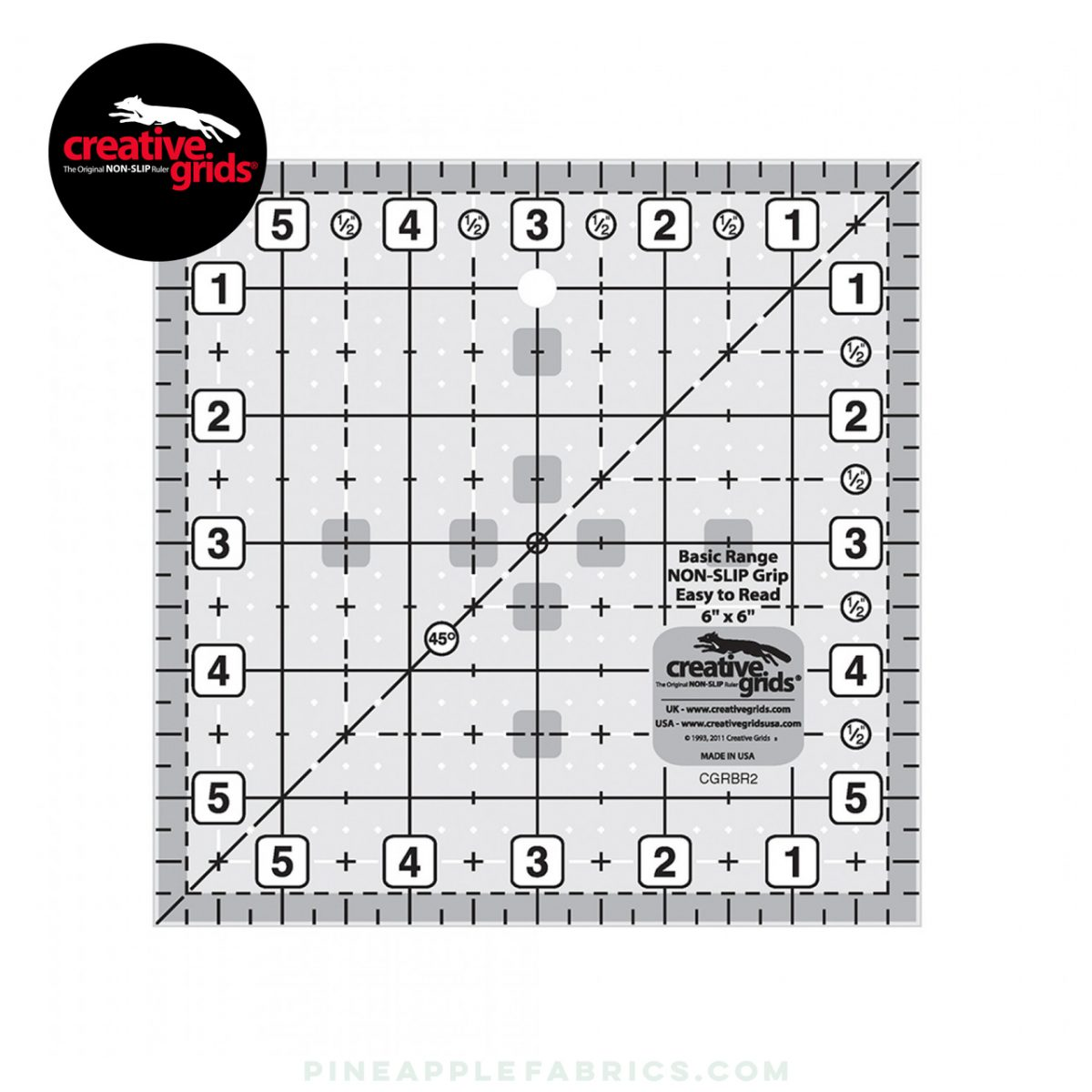 CGRBR2 - Creative Grids Basic Range 6in Square