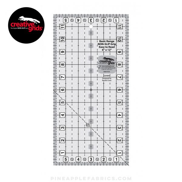 CGRBR5 - Creative Grids Basic Range 6in x 12in Rectangle
