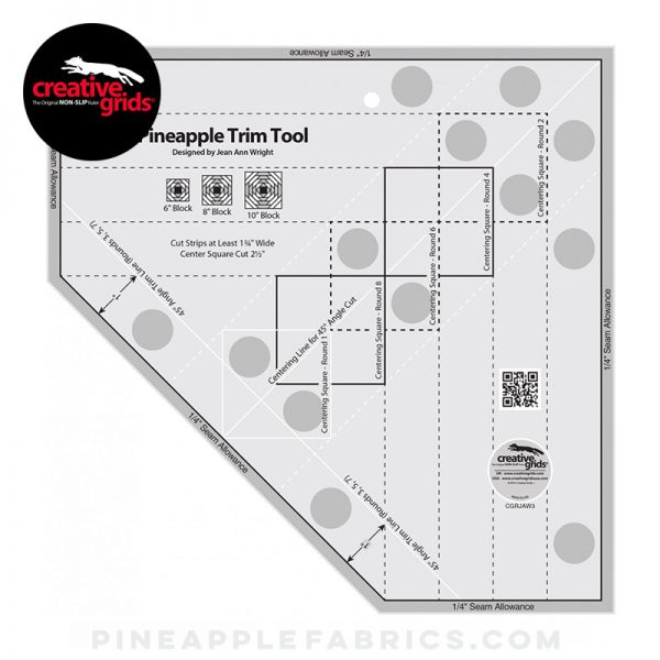 CGRJAW3 - Creative Grids Pineapple Trim Tool for 6