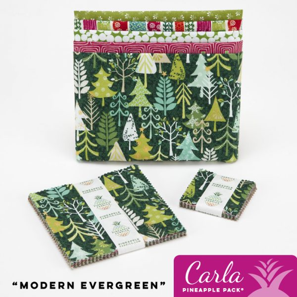 Modern Evergreen - Carla Pineapple Pack