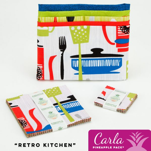 Retro Kitchen - Carla Pineapple Pack