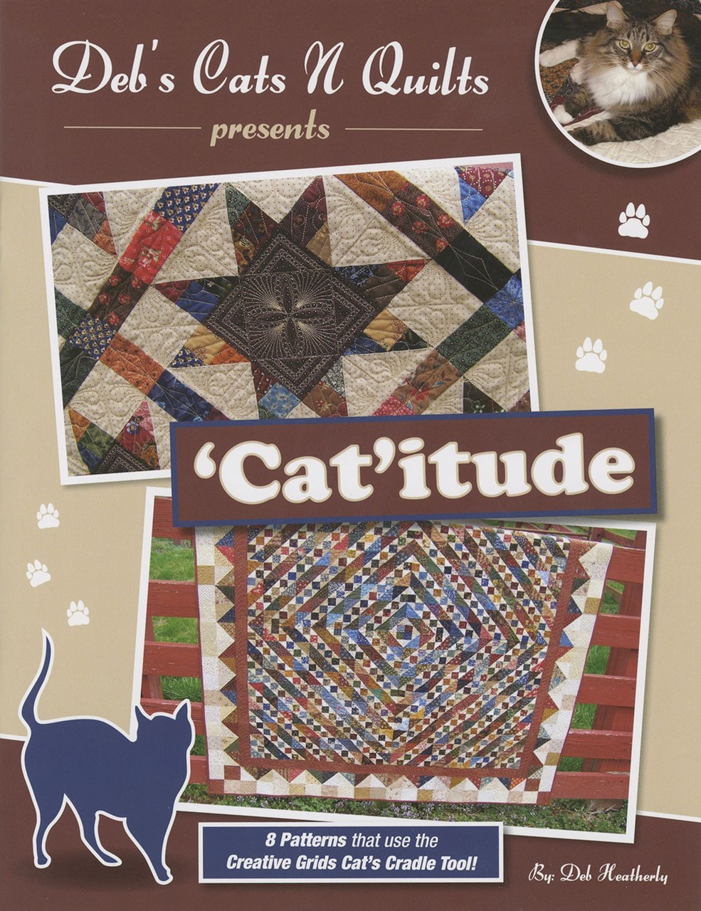 DH1501 - Cat'itude Pattern Book