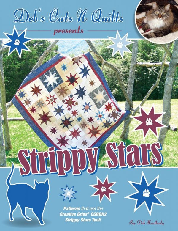 DH151001 - Strippy Stars Pattern Book
