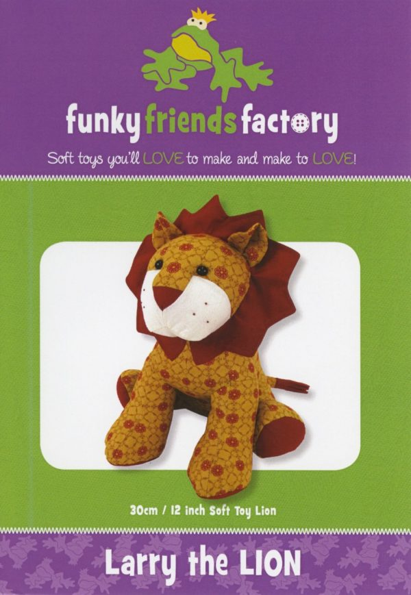 Larry the Lion by Funky Friends Factory