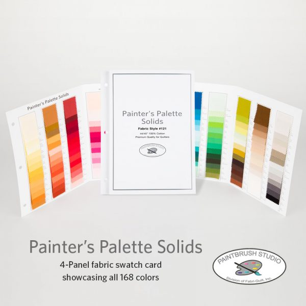 Painter's Palette Solids - 168 Color Swatch Folder - Paintbrush Studio