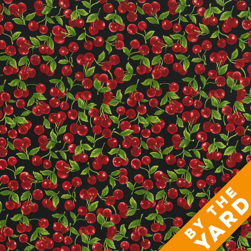 Fabri-Quilt - Fresh Harvest Cherries - 112-28711 - Fabric by the Yard