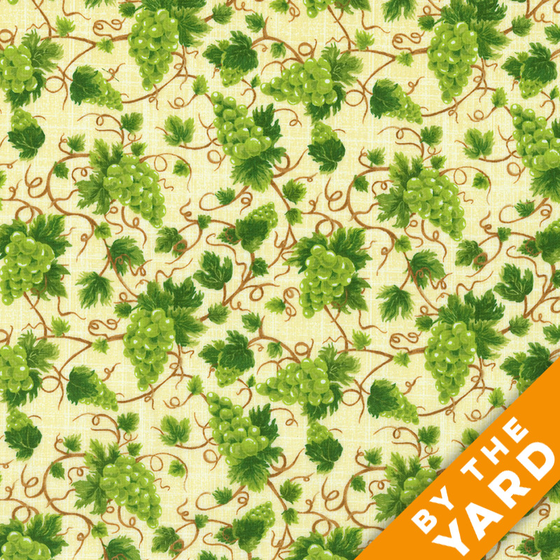 Fabri-Quilt - Fresh Harvest Grapes - 112-28721 - Fabric by the Yard