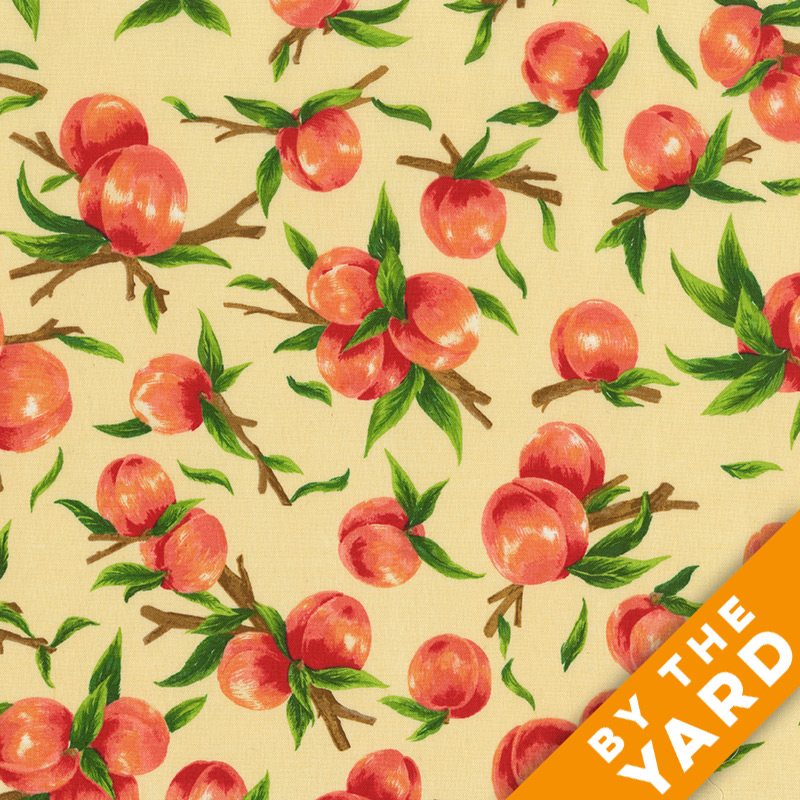 Fabri-Quilt - Fresh Harvest Peaches - 112-28701 - Fabric by the Yard