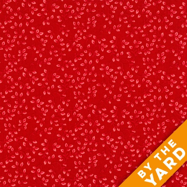 "Henry Glass 108"" Folio Quilt Backs 7882-88 - Red"