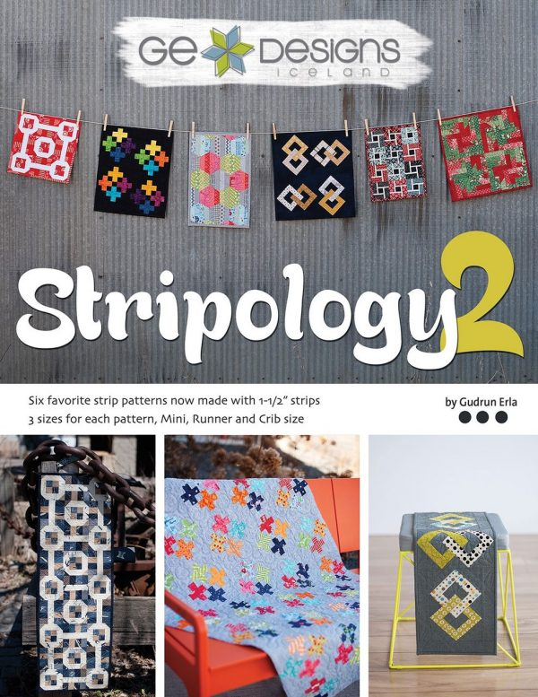 GE510 - Stripology 2 Pattern Book
